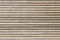 一张木席子的纹理 免版税库存照片
