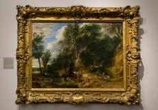 一张绘画国家肖像馆的彼得・保罗・鲁本斯在伦敦 图库摄影