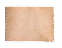 一张老照片 免版税图库摄影