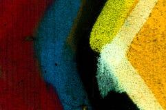 一张街道画,纹理,引人注目之物的细节作为墙纸的 免版税库存照片