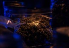 一微妙的盎司大麻 图库摄影