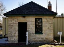 一所两含有某种或若干小细胞的监狱 免版税库存照片