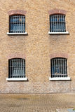一所前监狱的细节 库存图片