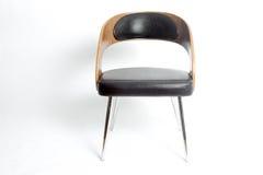 一把现代减速火箭的设计椅子 库存照片