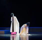 """一把令人沮丧的日期这紫色簪子--江西linchuan† opera""""four梦想  库存照片"""