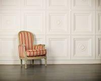 一把经典扶手椅子 免版税库存图片