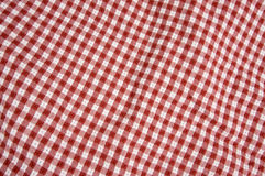 一揽子野餐红色白色 图库摄影