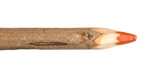 一支巨型手工制造颜色铅笔 库存照片
