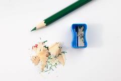 一支色的铅笔 库存图片