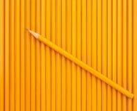 一支锋利的铅笔 库存照片