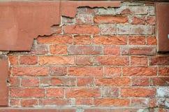 一放置的片段从砖 免版税库存照片