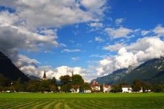 一日在Interlaken 免版税库存图片