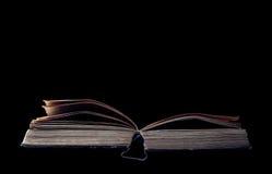 读一本惊人的书 库存照片