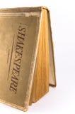 一本旧书莎士比亚著 免版税库存图片