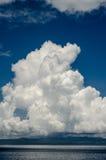 一朵云彩 免版税库存图片
