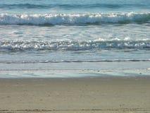 一朵镇静海浪在林肯城,俄勒冈 库存照片