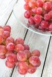 一束桃红色葡萄 图库摄影