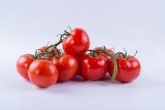 一束红色蕃茄 免版税库存照片