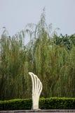 一束菩萨-在巴南递花,重庆世界庭院里  免版税库存照片