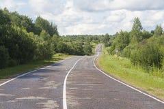 一条农村路 库存图片