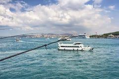 一条小船 免版税图库摄影