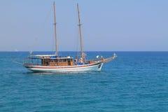 一条小船 免版税库存照片