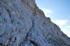 一条山道路在斯洛文尼亚 免版税库存照片
