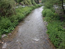 一条河在保加利亚 免版税库存照片