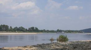 一条河在波兰 免版税图库摄影