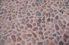 一条石道路。 免版税库存照片