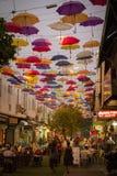 一条街道在安塔利亚 火鸡 免版税库存照片