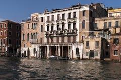一条运河的看法在威尼斯 免版税库存图片