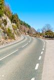 一条风景高速公路 图库摄影