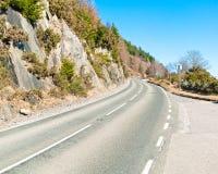 一条风景高速公路 免版税库存照片