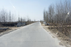 一条高速公路 库存图片