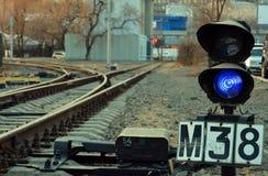 一条轻便铁路 库存照片