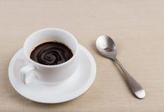 一杯咖啡。 图库摄影