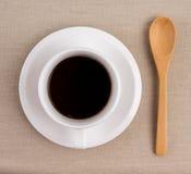 一杯咖啡。 免版税库存照片