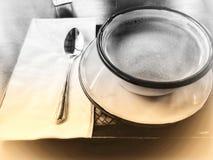 一杯咖啡古董样式 库存图片