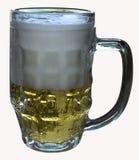 一杯啤酒 图库摄影
