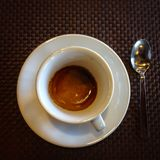 一杯好咖啡 免版税库存照片
