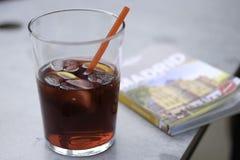 一杯桑格里酒 免版税图库摄影