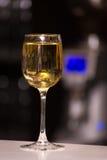 一杯清淡的酒 免版税库存图片