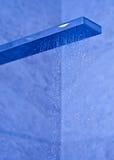 现代淋浴喷头 库存图片