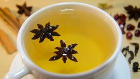 一杯茶用茴香 影视素材