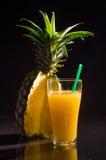 一杯菠萝汁 图库摄影