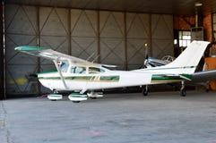 一架小型飞机 库存图片