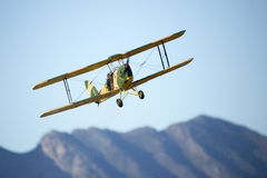 一架式样特技飞机 免版税库存照片