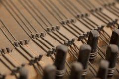 里面钢琴 免版税库存图片