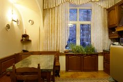 一栋居住的multiroom公寓的图象 库存照片